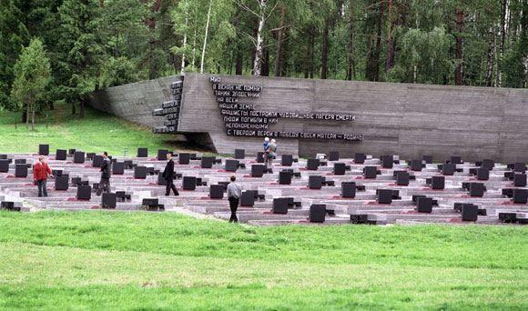 Мемориальный комплекс «Хатынь» в Белоруссии