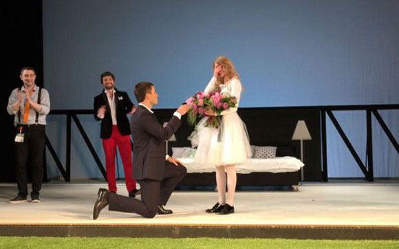 Chosen by Svetlana Khodchenkova made her an offer after the end of the performance