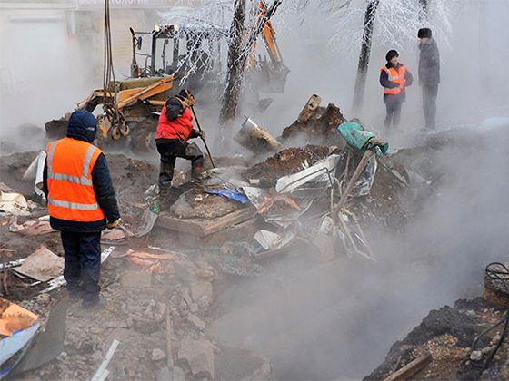 Крупная коммунальная авария в уральской столице