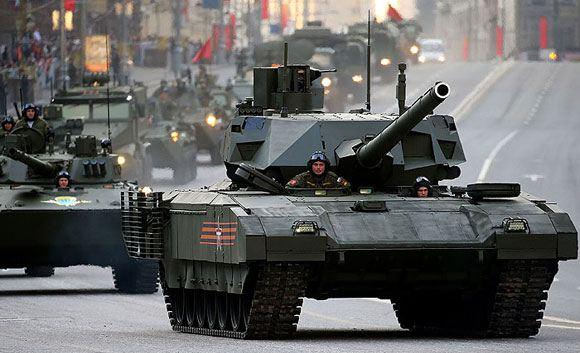 Создатели танка на базе «Арматы» заявили о том, что собираются роботизировать его