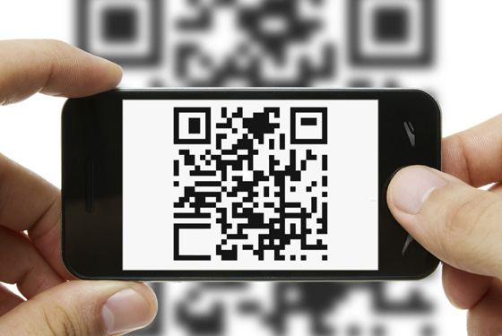 В qr-коде можно зашифровать много информации