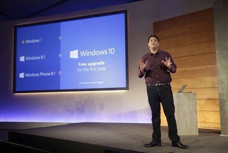 Presentation of the operating system Windows 10