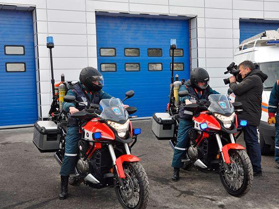 В Ростовской области мотоспасатели будут помогать пострадавшим в ДТП