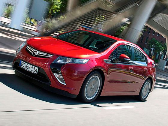 Car of the Year 2012 Opel Ampera