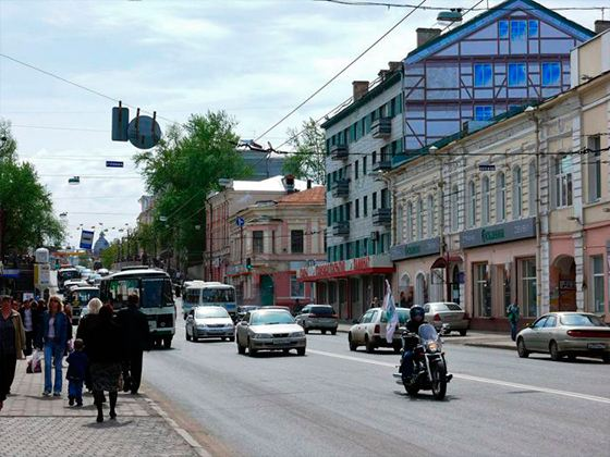 На улицах Томска