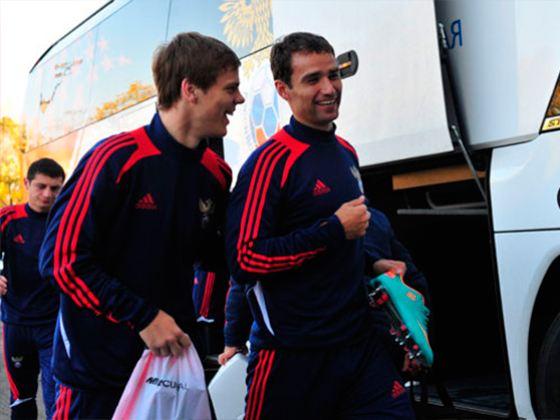 In the photo: Alexander Kokorin and Roman Shirokov