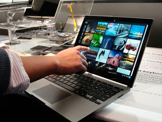 Google представила Chromebook Pixel