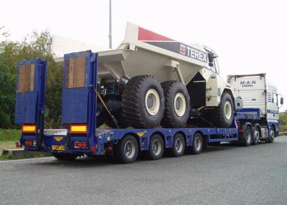 Перевозка негабаритных грузов требует особых условий