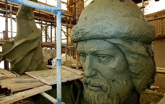 Модель памятника князю Владимиру