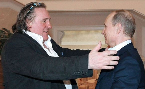 Depardieu thinks that many French people want such a president like Putin