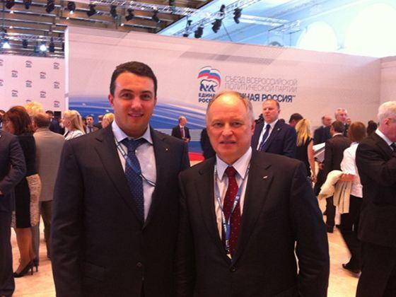 На фото: Михаил Пахомов принял участие в XIII съезде ЕР