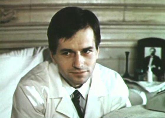 "Young Igor Livanov in the film ""Mysterious Heir"""