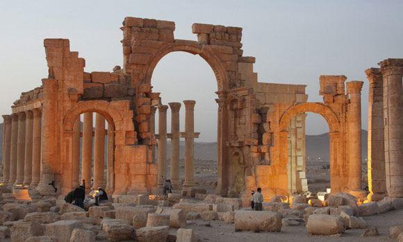 Боевики ИГ заминировали развалины Пальмиры в Сирии