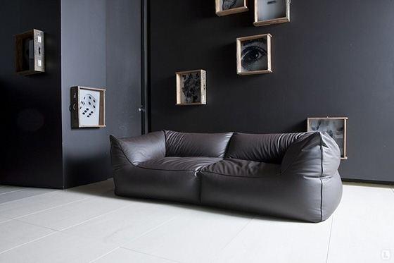 Бескаркасный диван отлично впишется в интерьер
