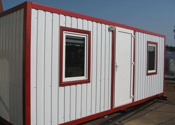 Блок-контейнеры призваны создать комфорт для рабочих на стройплощадке