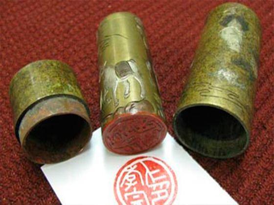 Одними из первых печати начали использовать жители Древнего Китая