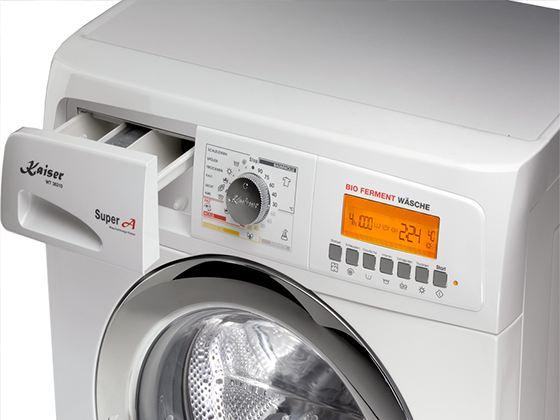 На стиральных машинах с дисплеем отображается код конкретной ошибки указывающий на причину
