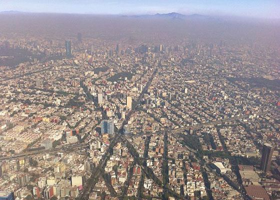 9. Мехико (19,463,000)