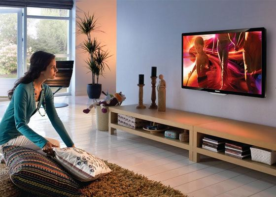 Конкурентом LCD телевизоров является плазменная панель