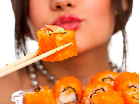 Живя на суше – кушай суши