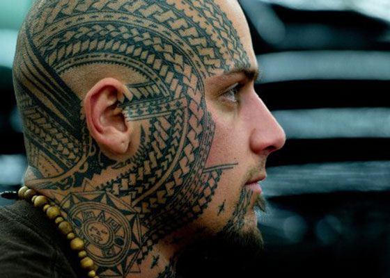 Традиционные узоры тату в Новой Зеландии