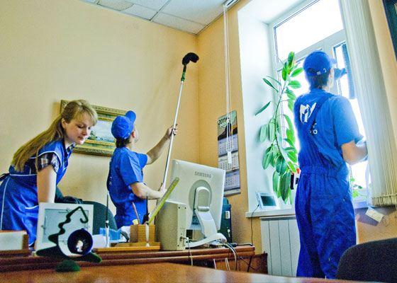 Уборка офисов - это специально организованные мероприятия, обеспечивающие поддержку чистоты и безупречный внешний вид помещения.