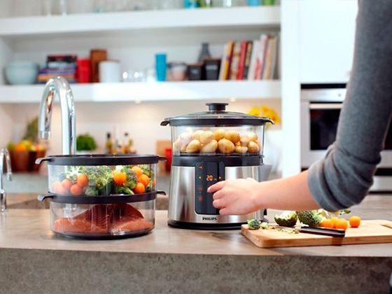 Пароварки довольно успешно заменили на современной кухне обычную газовую плиту