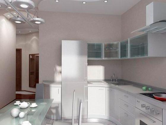 Для того чтобы на кухне было достаточно свободного пространства дизайнеры советуют делать кухни на заказ