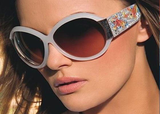 Гламурные очки от дизайнера Кристиана Одижье