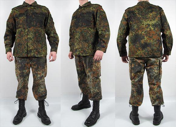 Практичная и функциональная военная одежда позволяет ощущать себя комфортно в самых различных ситуациях