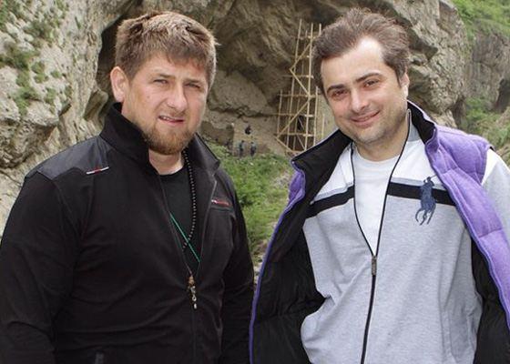 Владислав Сурков и Рамзан Кадыров