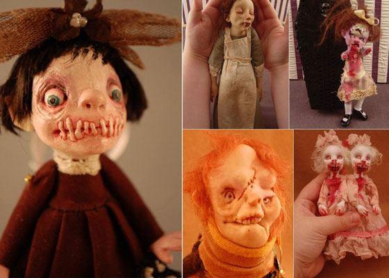 Коллекция кукол Камиллы Млынарчик