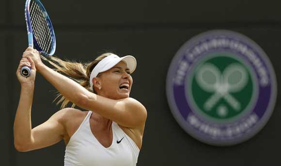Мария Шарапова прошла в полуфинал Уимблдонского турнира