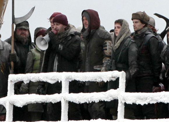 Константин Хабенский на съемках «Войны миров Z»