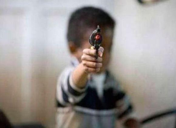 Запомни! Пистолет должен находиться вне досягаемости детей!