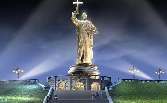 Памятник крестившему Русь князю могут поставить у храма Христа Спасителю