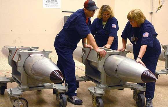 В США прошло первое испытание новой ядерной бомбы