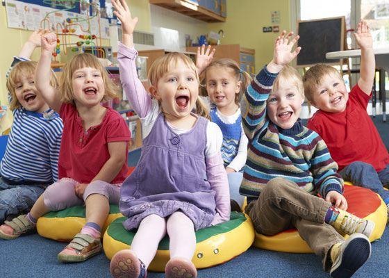 Детский сад - первый опыт общения ребенка со сверстниками