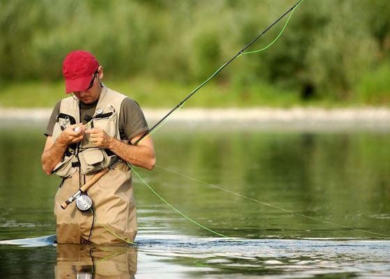 Одежда для рыбалки имеет свои особенности