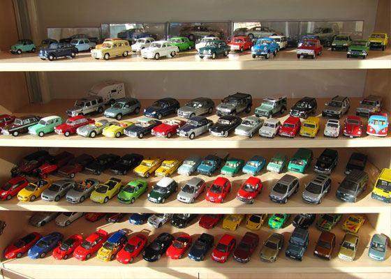 Маленькие автомобили, уцелевшие из детства, стоят теперь целое состояние