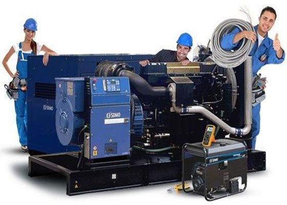 Дизельные генераторы способны работать даже в суровых условиях
