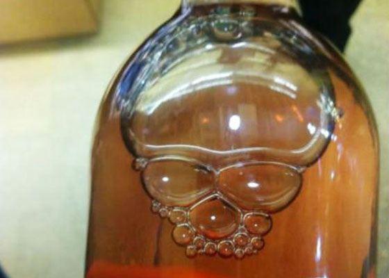 Ужасные пузыри в бутылке