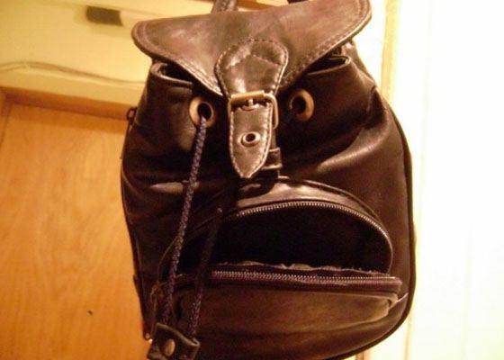 Жуткий оскал рюкзака
