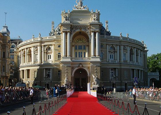The ceremony will be held at the Odessa Opera and Ballet Theater