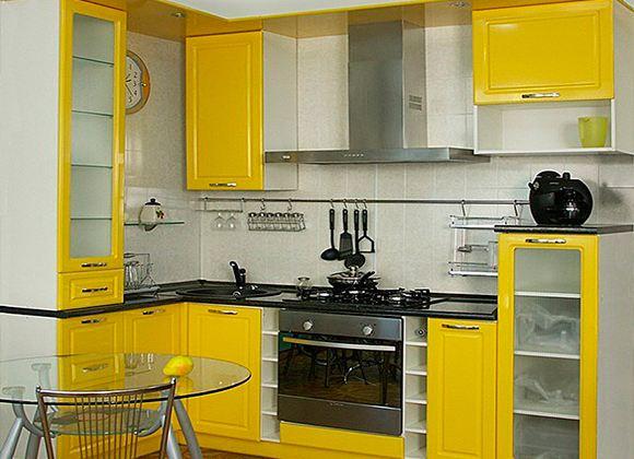 Малогабаритные кухни - стильный комфорт в ограниченном пространстве