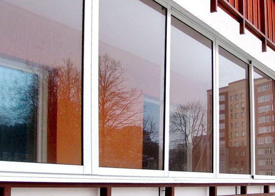 Остекление балкона - популярный вид утепления жилища