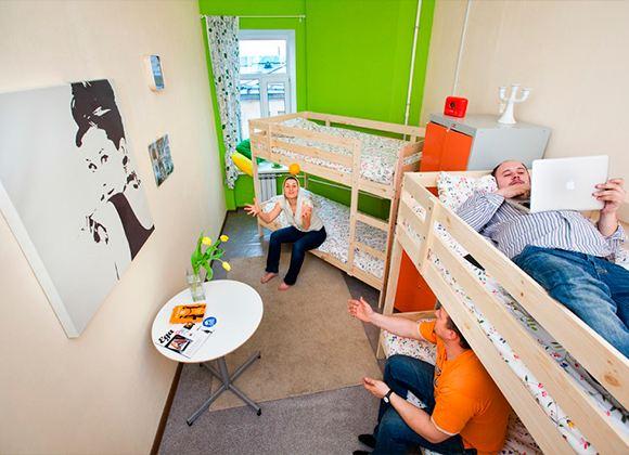 Комната в хостеле - самый дешевый вариант, но и комфорт здесь минимальный
