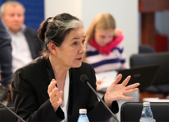 Глава Комитета по жилищным вопросам и ЖКХ Галина Хованская