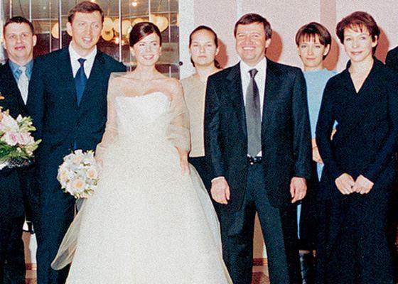 Свадьба Олега Дерипаски и его жены Полины