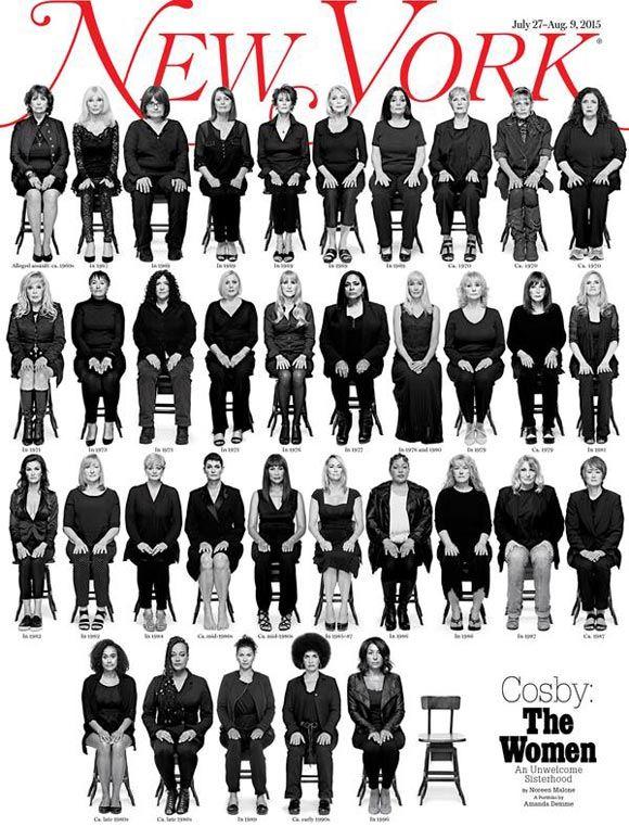 New York разместил на обложке фотографии жертв Билла Косби